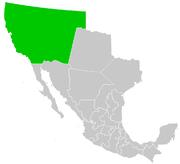 Territorio de Alta California, México
